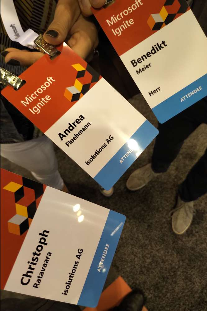 isolutions at MS Ignite '18