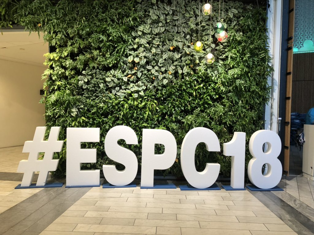 isolutions at the ESPC18