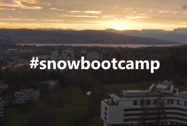 The isolutions SnowBootCamp goes City