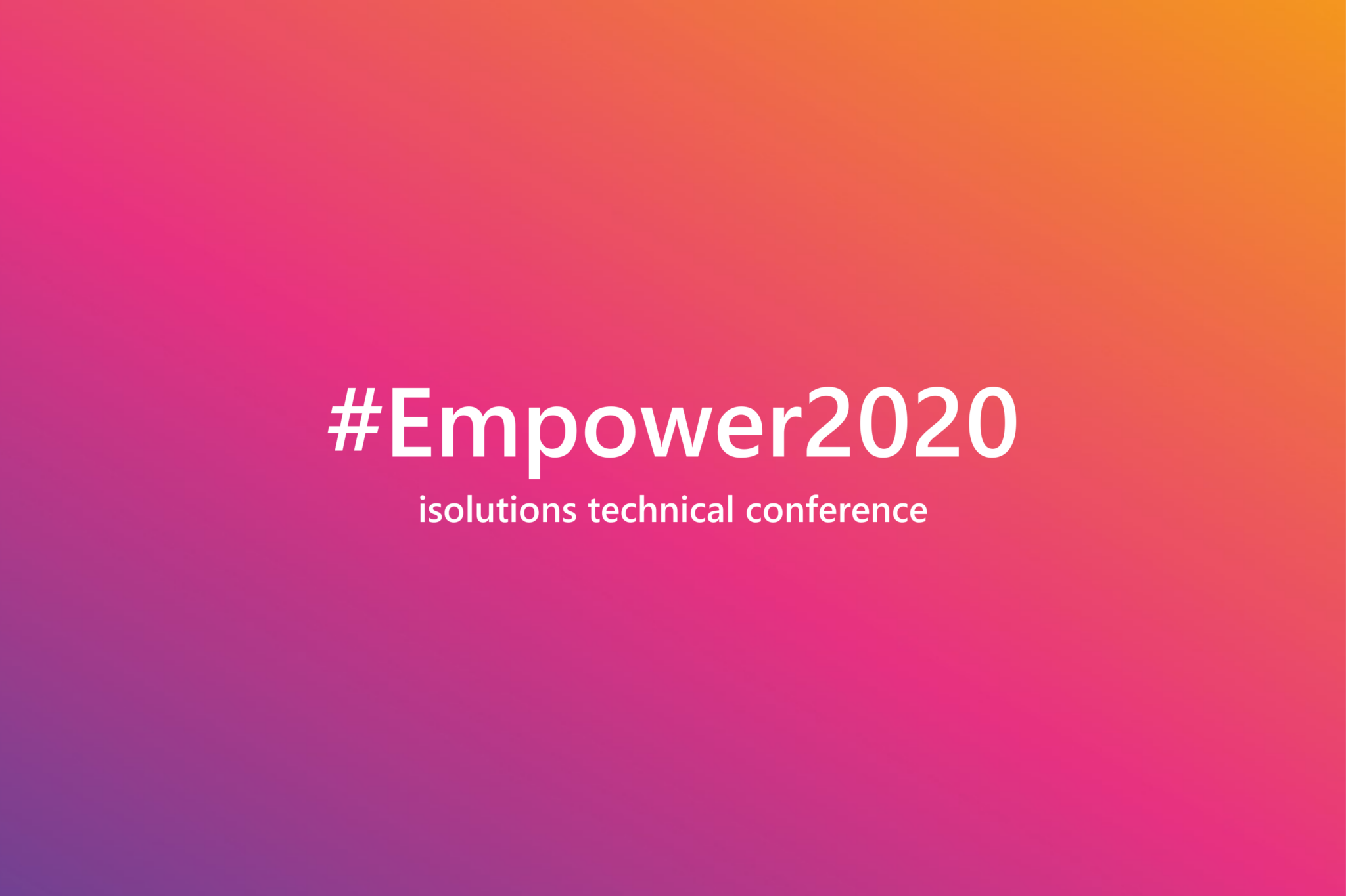 isolutions-barcelona-empower-2020-event-software-development-developer